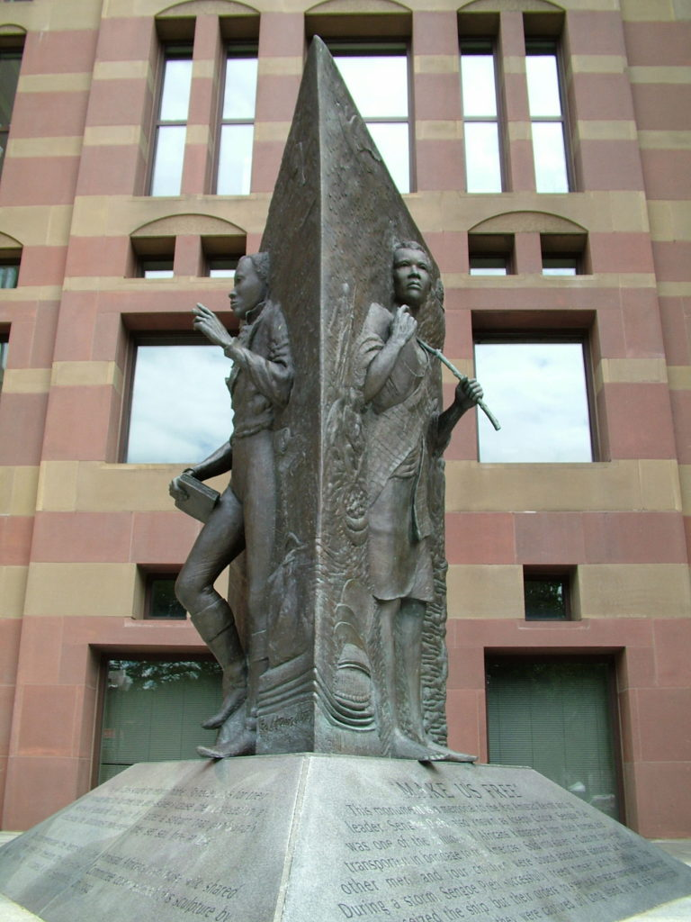 5. front shot of Amistad Memorial 1992